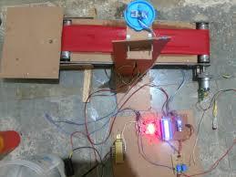 diy engineering projects automatic bottal feeling using arduino conveyor belt design diy