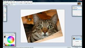 how to rotate images on paint net youtube