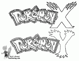 pokemon x and y coloring pages printable coloring home
