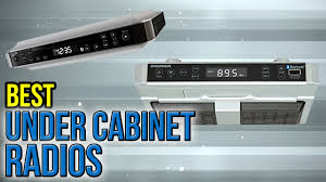 under cabinet kitchen radios 6 best under cabinet radios 2017 youtube