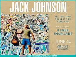 jack johnson all the light above it too jack johnson b105 7 wyxb indianapolis