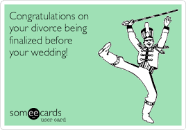 congratulations on your divorce card congratulations on your divorce being finalized before your