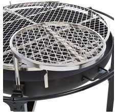 Firepit Grille by Rivergrille Cowboy 31 Charcoal Grill And Fire Pit Open Camp Fire