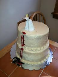 Wedding Cake Joke The Perfect Cake To Celebrate The End Of A Horrible Marriage