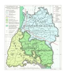 Baden Schwaben Südwestdeutschland Nach Kriegsende 1945 Bis Zur Bildung Von Baden