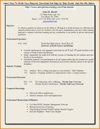 Sample Elementary Teacher Resume Sample Teacher Resume Word Proofreading Checklist For The Basic