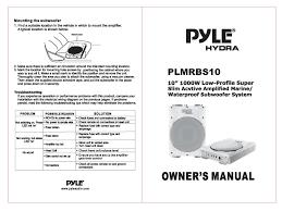 pyle plmrbs10 loudspeaker