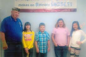 American Legion Flag Cou Fifth Grade Students Participates In American Legion Flag