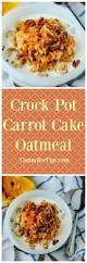 crock pot carrot cake oatmeal recipe tammilee tips