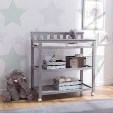 Delta Changing Table Delta Children Bell Top Changing Table With Casters Choose Your