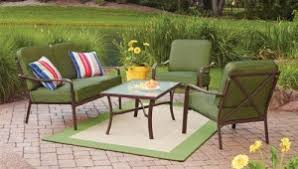 Mainstays Patio Furniture by Mainstays Crossman Cushions Walmart Replacement Cushions