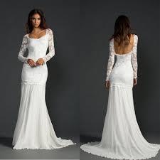click to buy u003c u003c chiffon long sleeve boho beach wedding dress 2017