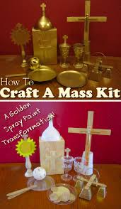 catholic mass crafts and activities for kids