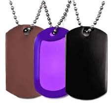 Personalized Dog Tags For Couples Engraved Necklaces Personalized Necklaces