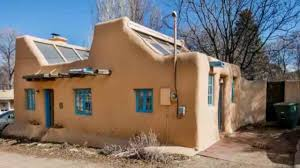 510 sq ft small pueblo style solar home in santa fe great