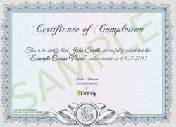 examples of certificates of completion certificates of completion controversy selenium simplified