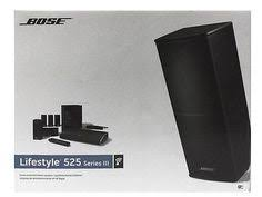bose lifestyle 12 series i 5 1 channel home theater system