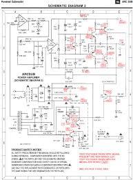 subwoofer schematic circuit diagram circuit and schematics diagram
