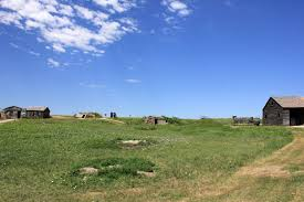 South Dakota landscapes images Free stock photo of early homestead landscape at badlands national jpg
