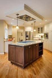 kitchen island exhaust fan interior design