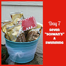 12 days of christmas service day 7 seven schwan u0027s a swimming