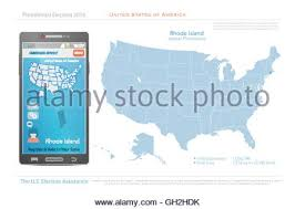 map usa rhode island rhode island state political map stock photo royalty free image