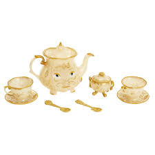 Patio Playhouse Beauty And The Beast by Amazon Com Dishes U0026 Tea Sets Toys U0026 Games Tea Sets Dishes U0026 More