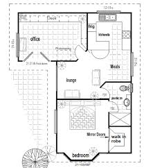 Floor Plan Flat by Bedroom Granny Flat Designs Finder Also 1 Floor Plans Open Plan