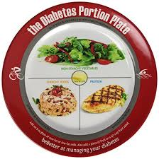 lunch for a diabetic diabetic portion plate health personal care