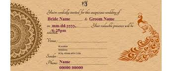 online marriage invitation free wedding india invitation card online invitations