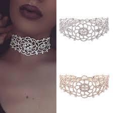collar diamond necklace images Luxury full diamond pendant chain necklace crystal rhinestone jpg