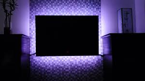 Led Light Strip Kits by Led Tv Backlighting Multicolored Led Light Kit With Remote Youtube
