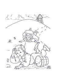 nursery rhymes coloring pages coloring kids
