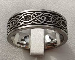 celtic rings celtic knot titanium ring for men love2have in the uk
