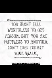 don t forget your value relatable lessons