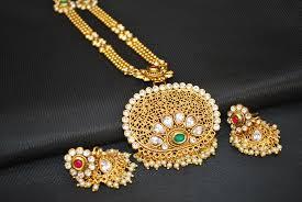 fashion jewellery necklace sets images Imitation jewellery one of kind copper base necklace set jpg