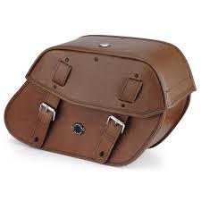 kawasaki vulcan s viking odin brown motorcycle saddlebags