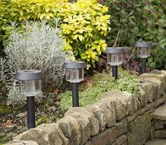 solar led garden lights all weather water resistant solar