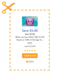 5 dollar gift cards king soopers ecoupon 5 a 25 itunes or app store gift card