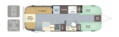 globetrotter 2018 floorplan airstream 2018 airstream globetrotter 27fb twin floorplan