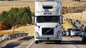 self driving trucks 10 breakthrough technologies 2017 mit