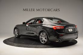 maserati midnight 2017 maserati ghibli s q4 stock m1687 for sale near westport ct