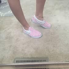 light pink checkered vans pink vans for babies off75 discounts