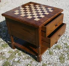 chess board coffee table bunk bed couch plans white stain on wood table from heat chess