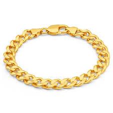 solid bracelet images Mens solid 8 inch 9ct gold curb bracelet 34 grams newburysonline jpg
