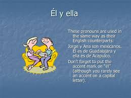 subject pronouns in this presentation we u0027re going to look at the
