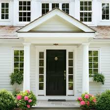 Traditional Exterior Doors 30 Best Images About Stoops Overhangs And Pergolas On