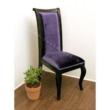 chaise violette chaise style rétro violet votre chez vous
