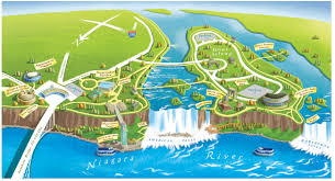 United States Canada Map by United States Map Of Niagara Falls The Niagara Falls Ontario