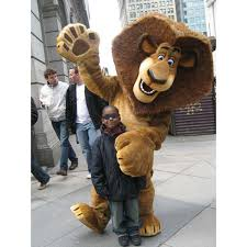 aliexpress buy alex lion madagascar mascot costume